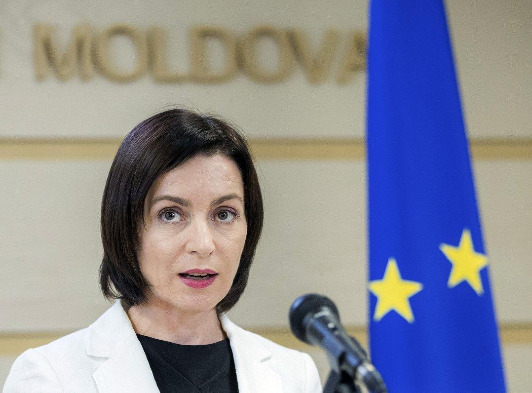 Moldovan president meets EU advisers
