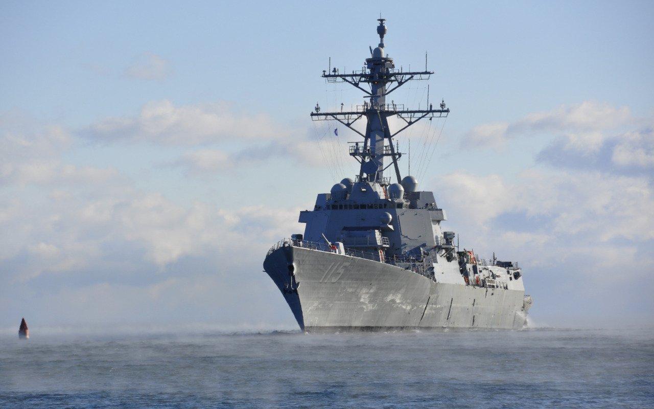 Newest US destroyer arrives for permanent deployment to Japan