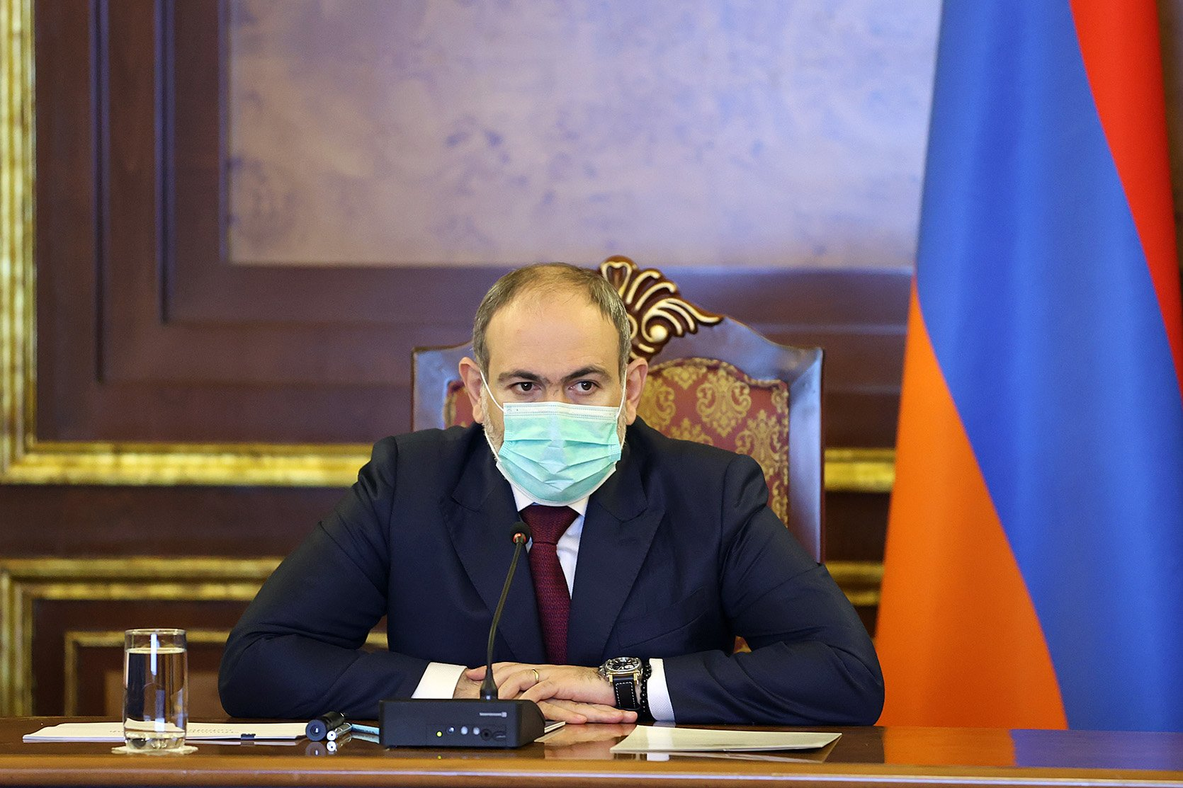 Pashinyan claims military coup attempt and fires head of General Staff