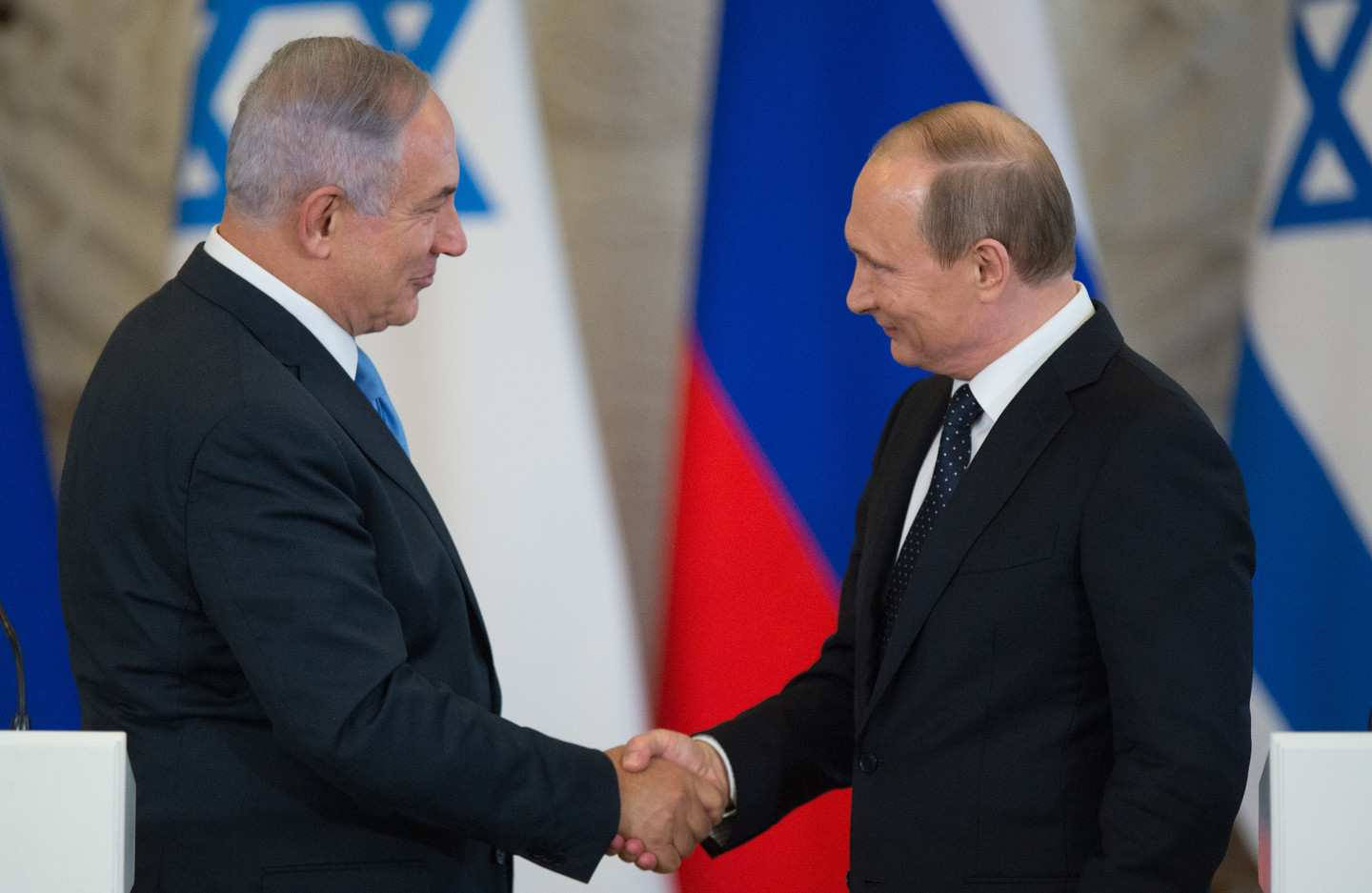 Netanyahu thanks Putin for helping to bring back Israeli woman from Syria