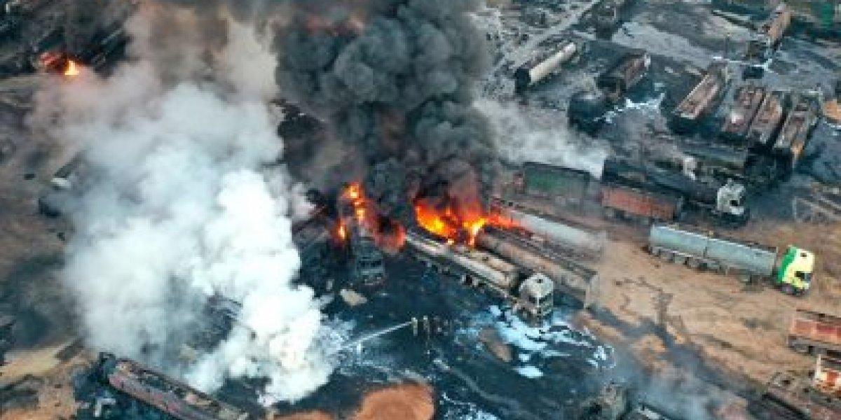 Missile strike in northern Syria destroys oil assets of pro-Turkish militants