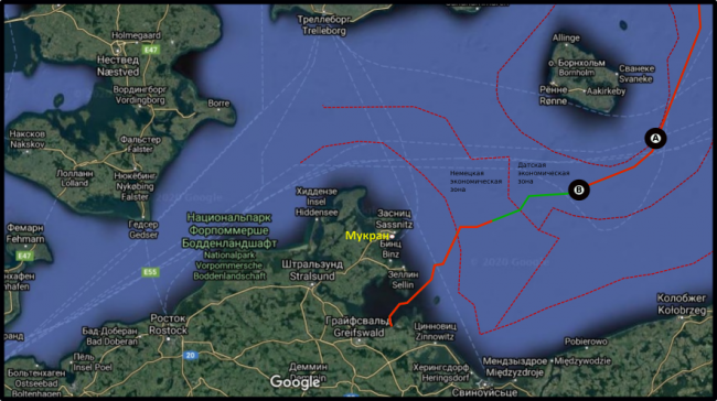 Fortuna completes half of the Danish section of Nord Stream-2