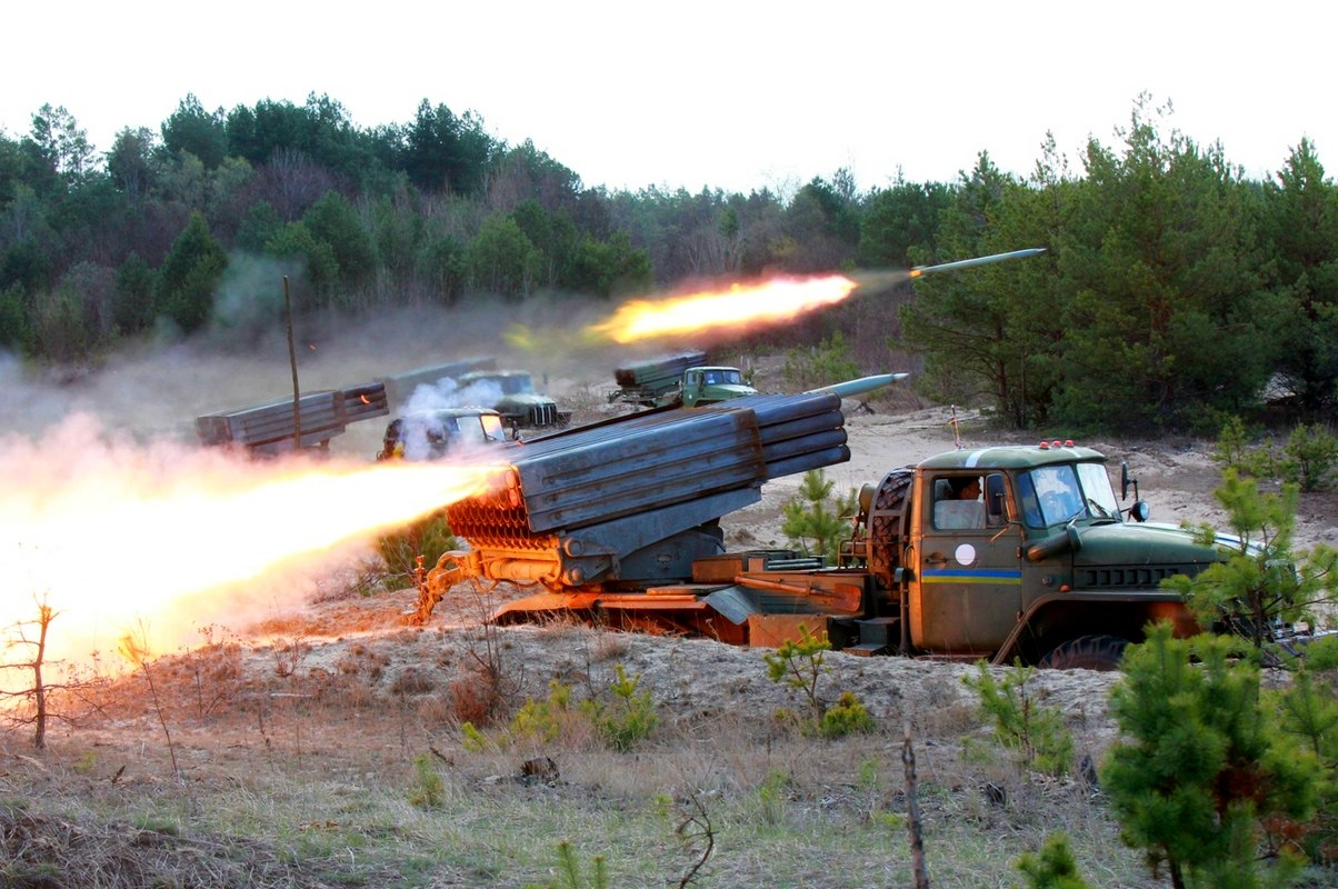 Ukrainian punishers have practiced use of artillery against the population of Donbass