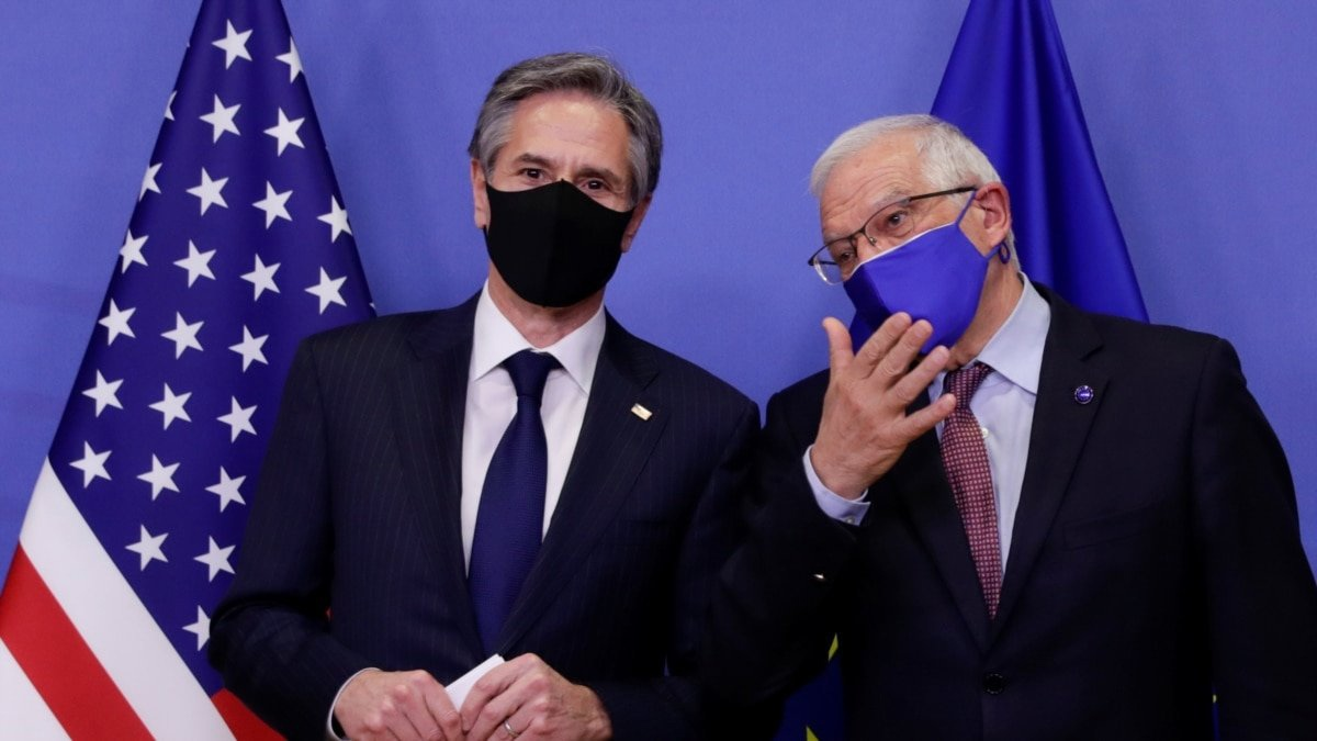 """Blinken and Borrell agree to confront the """"Russian threat"""" together"""