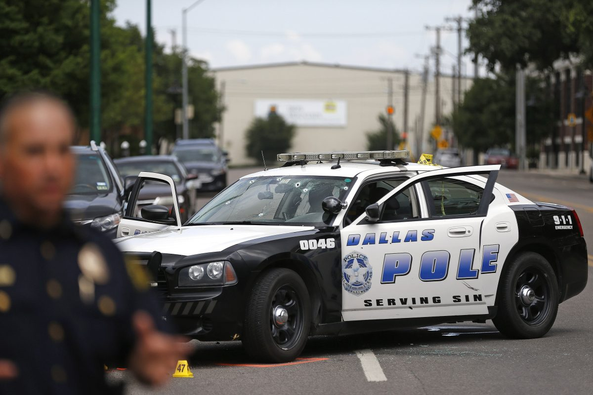 An unidentified man opened fire at a nightclub in Dallas, Texas