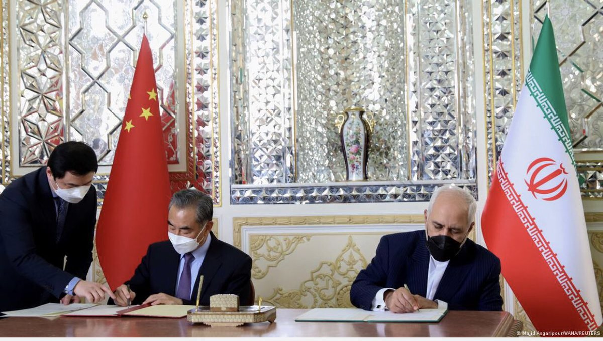 China and Iran sign 25-year cooperation agreement