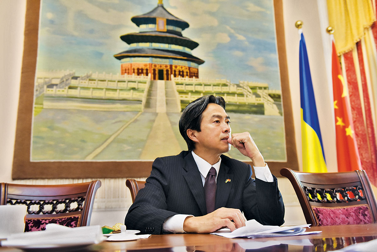 Chinese Ambassador warns head of Ukrainian President's Office about deterioration of relations between two countries