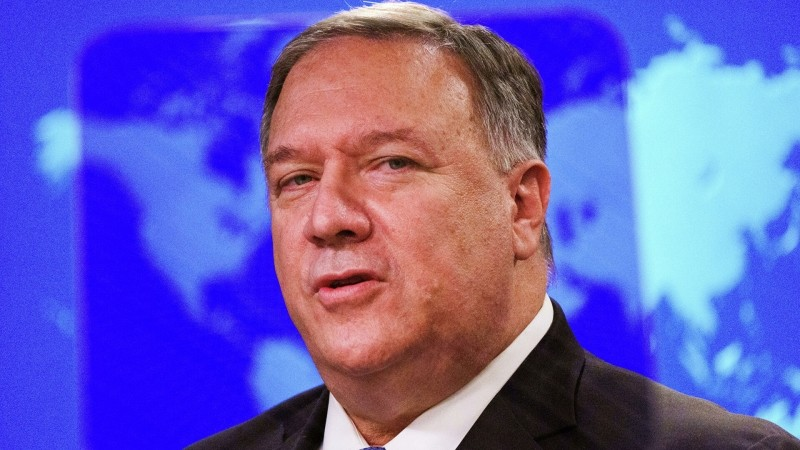 Pompeo did not rule out that he will run for president in 2024