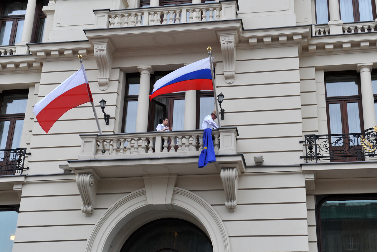 Poland accuses Russian diplomat of spreading COVID