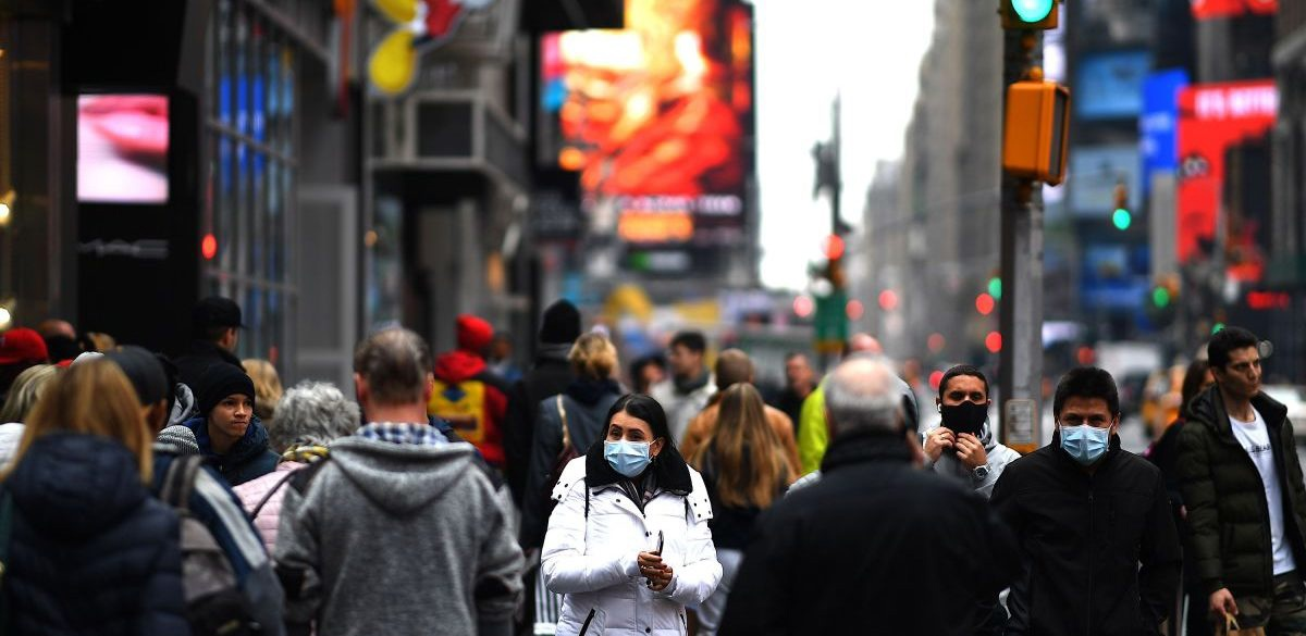 More than in war: New York mayor talks about human toll from coronavirus pandemic
