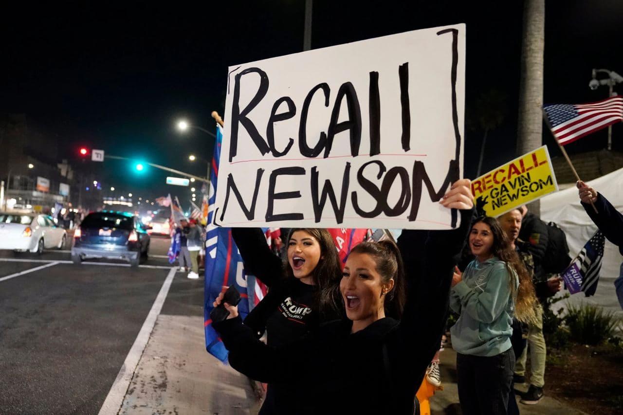A tumultuous California election