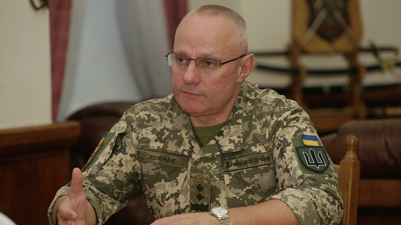 """Ukrainian Armed Forces Commander-in-Chief calls Ukrainian army """"the shield of Europe"""""""