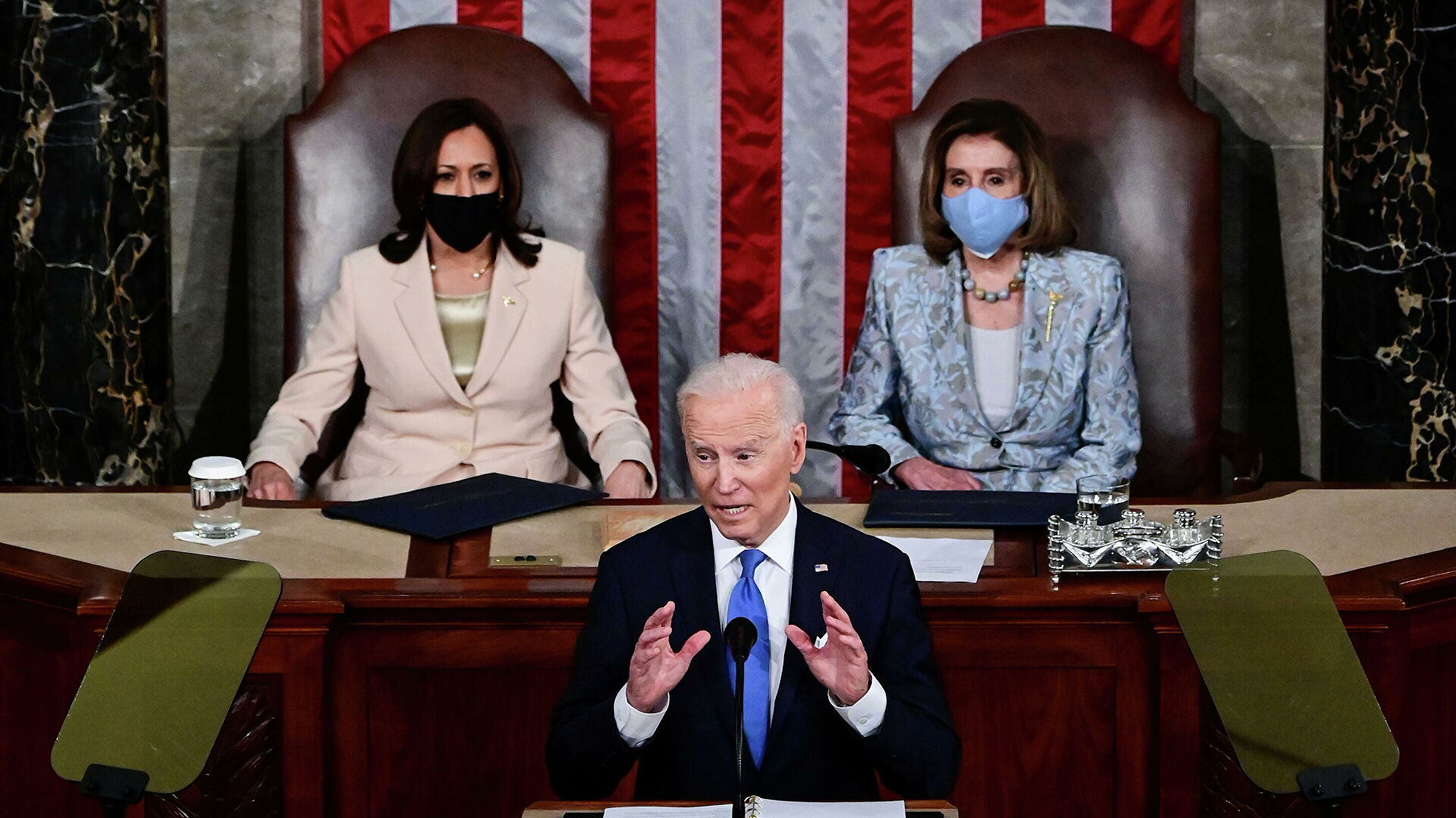 More and more left-wing populism in Biden's speeches