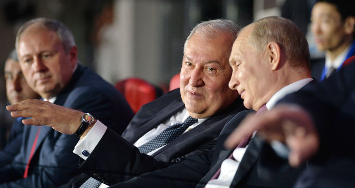 Armenian President thanks Putin for his personal contribution to the recognition of the Armenian Genocide