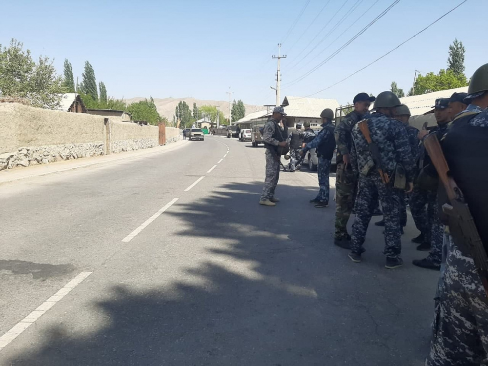 Shootout of security forces on border of Tajikistan and Kyrgyzstan