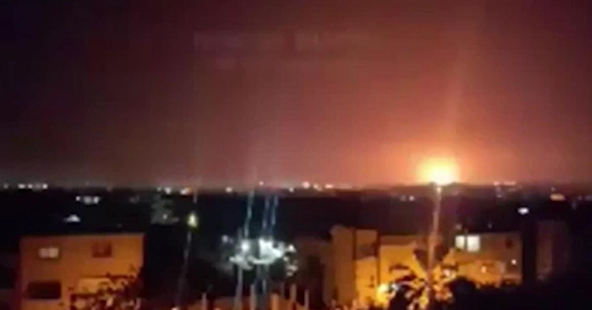 Israel and Syria launched mutual missile strikes