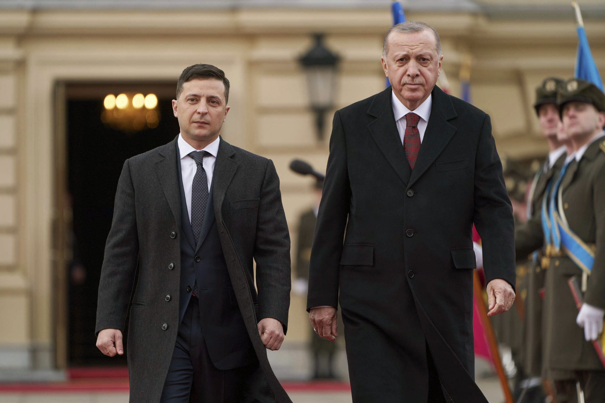 Source says Zelensky will go on a visit to Turkey