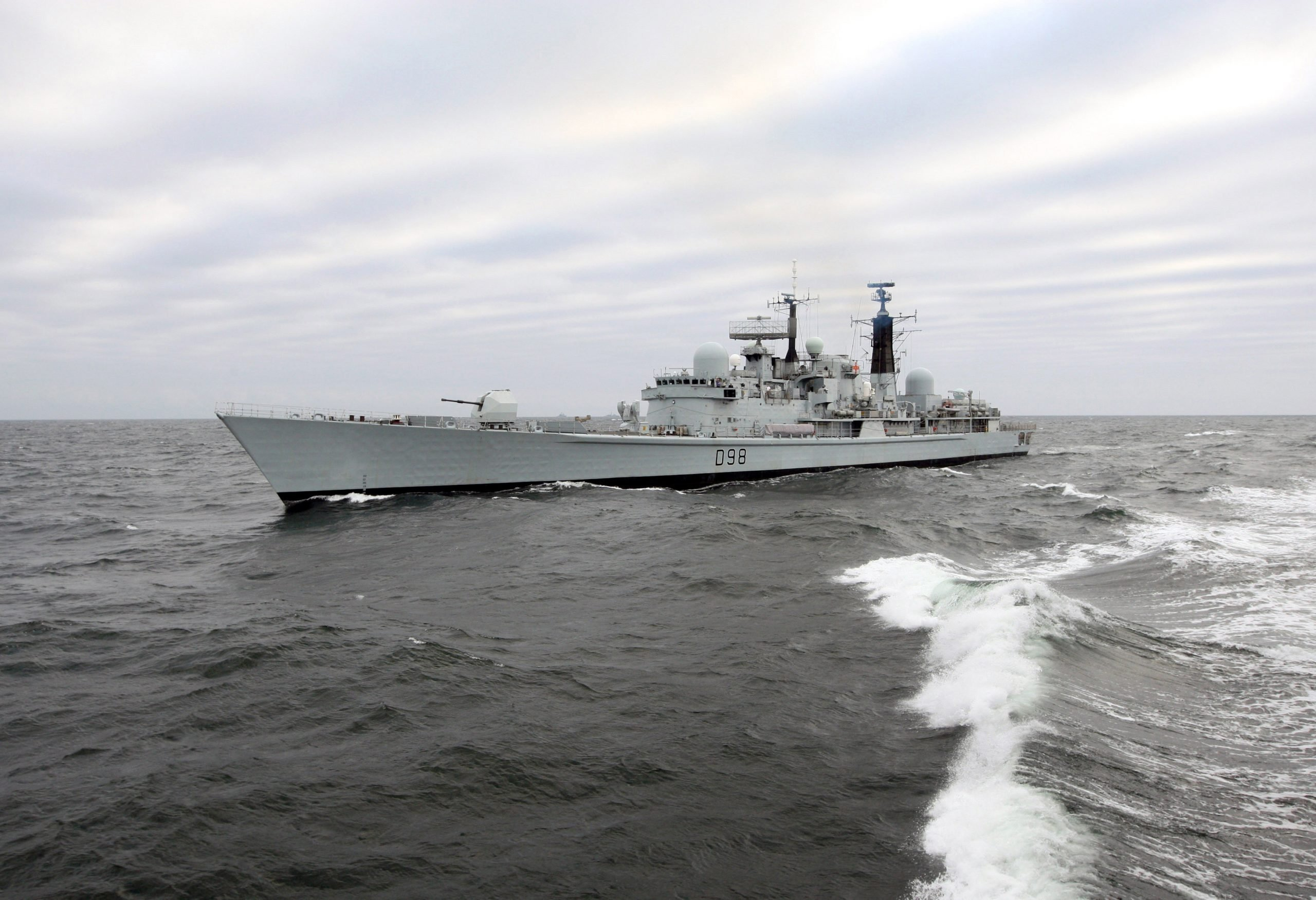 UK naval ships will sail to the Black Sea in May