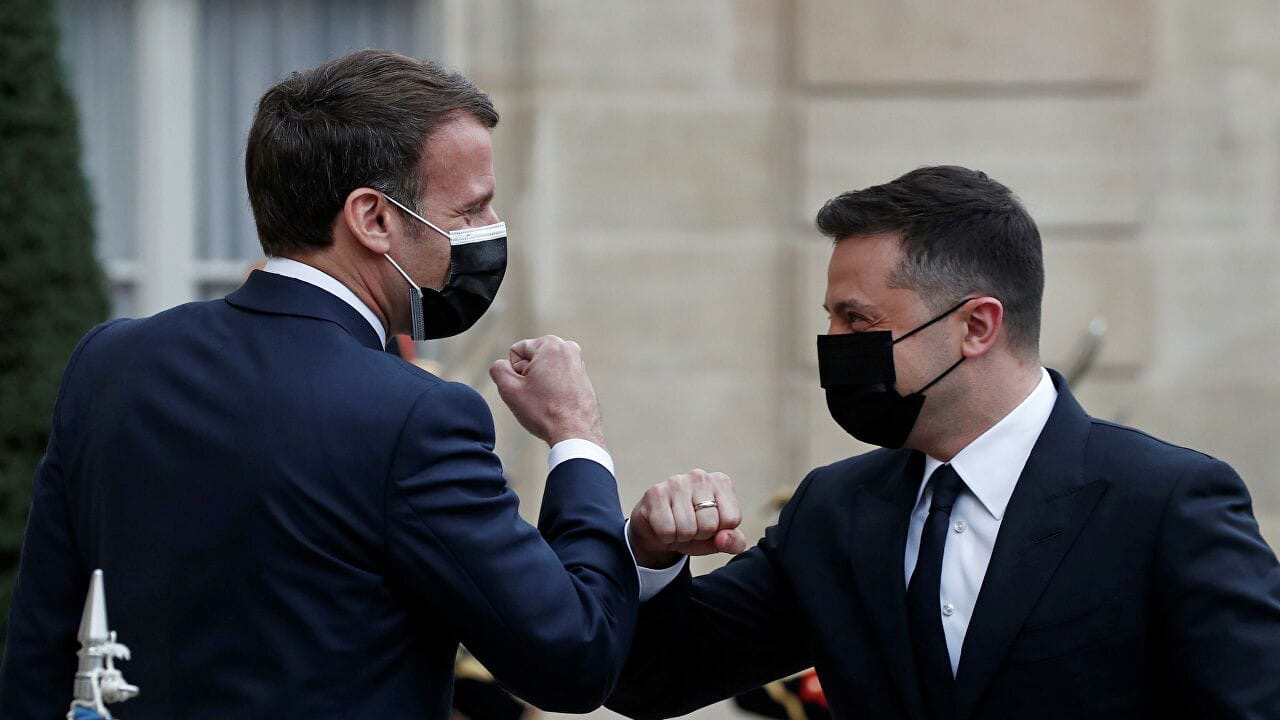 It became known when Macron can visit Ukraine