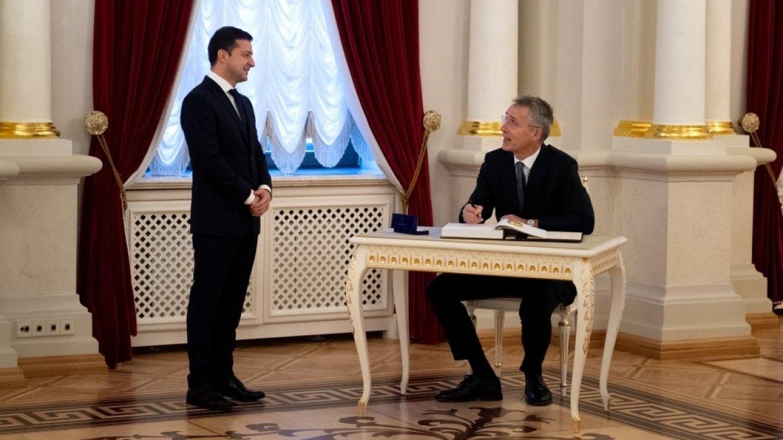 Zelensky says Ukraine's NATO membership will stop war in Donbass