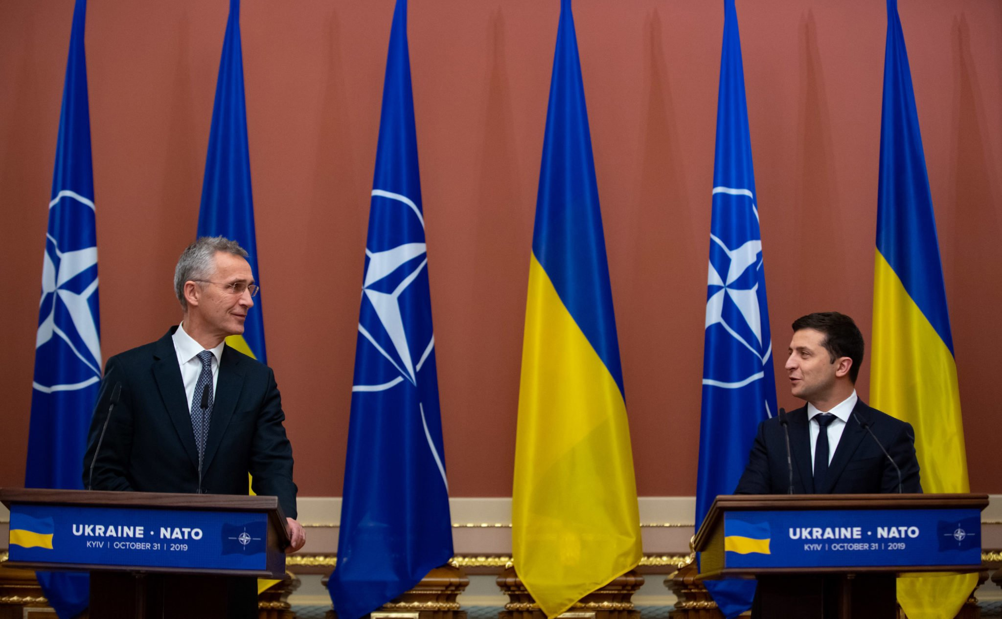 Ukraine announces national system for transition to NATO standards