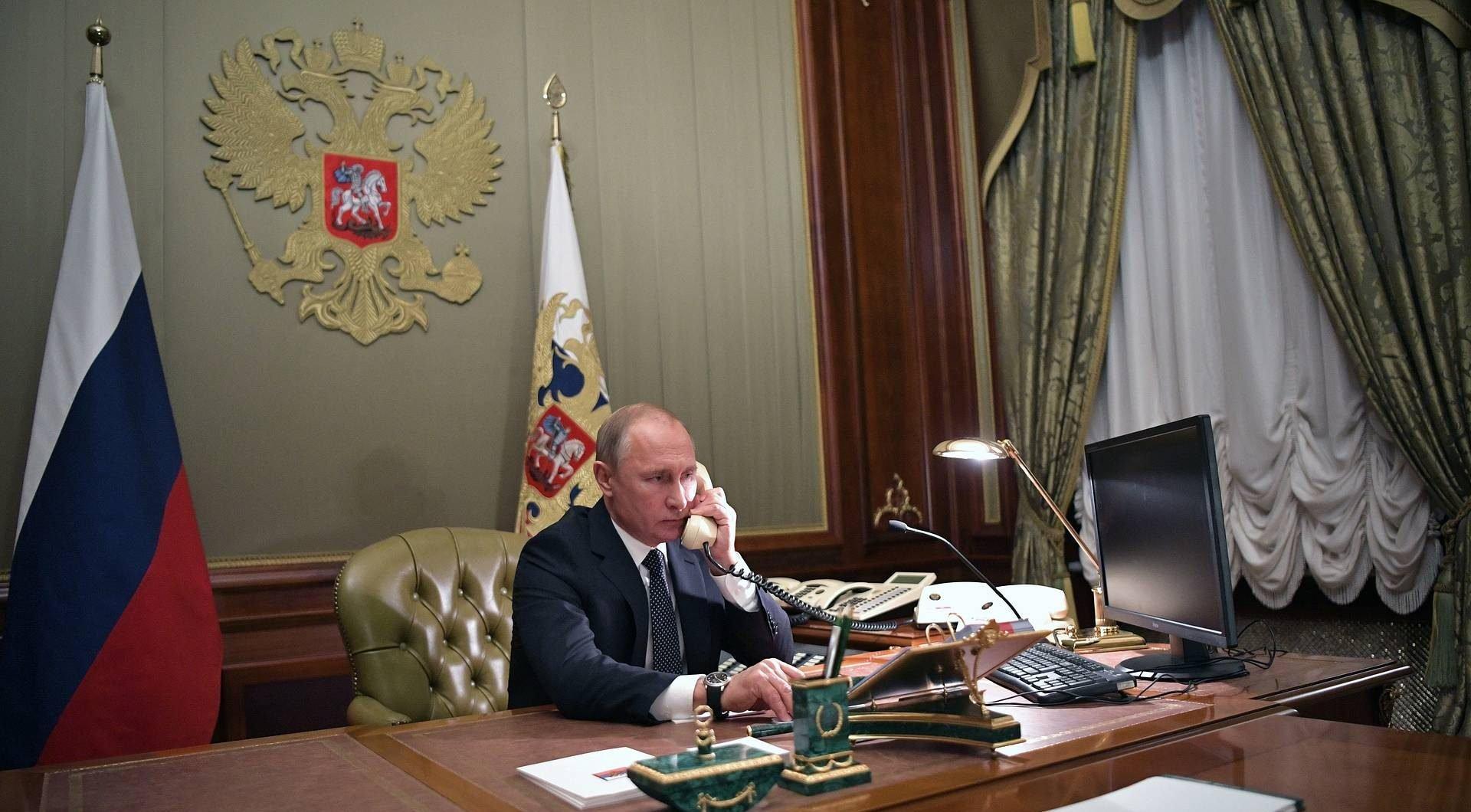 Putin had a telephone conversation with Lukashenko