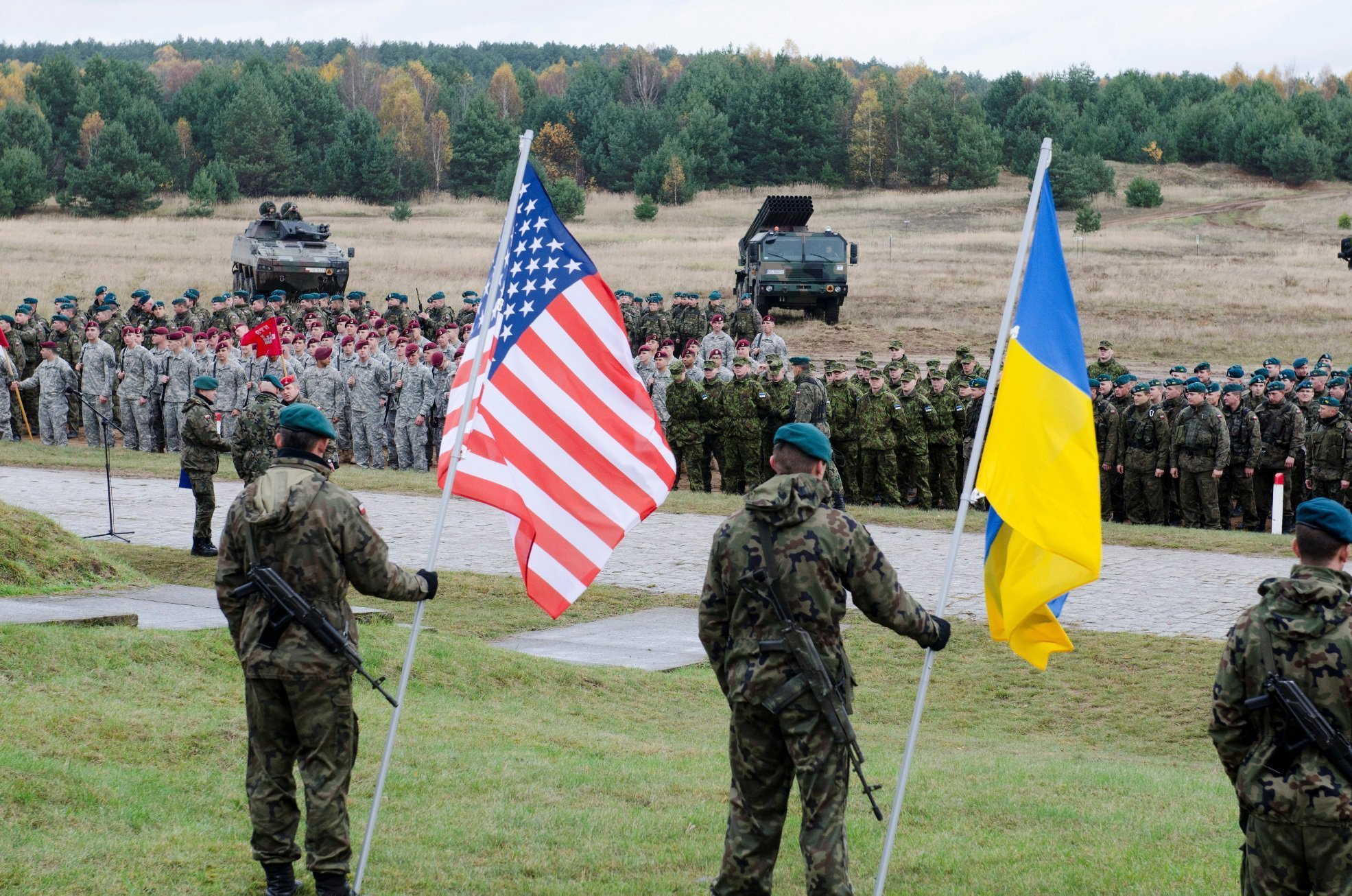 Kiev asked Washington to increase number of American instructors for military of the Armed Forces