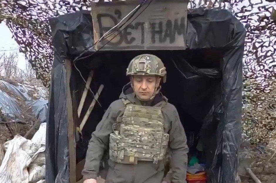 US instigators caress Ukrainian Nazis