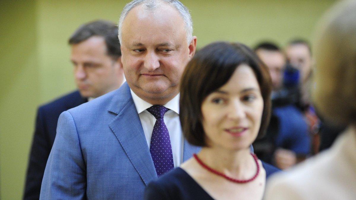 Moldovan Dodon says Sandu and her Western friends are dragging Moldova into a regional war
