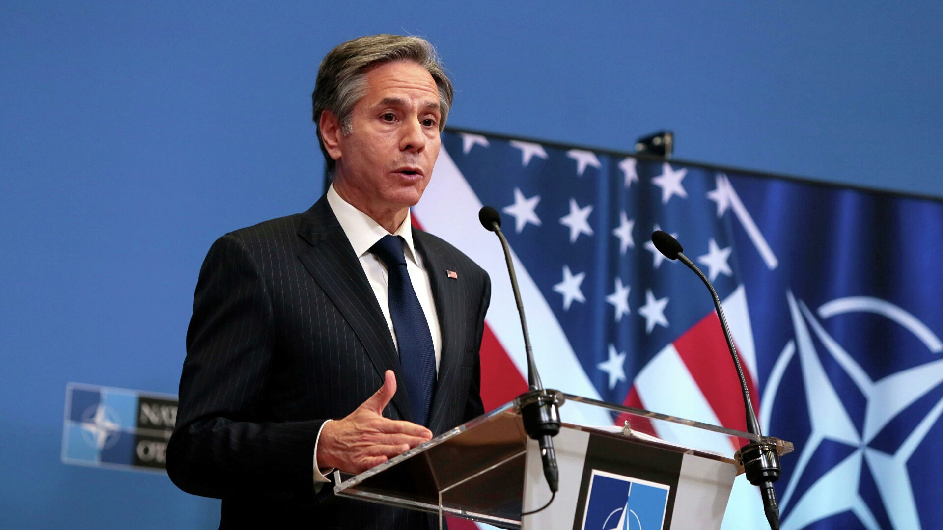 Blinken goes to talks with NATO colleagues again