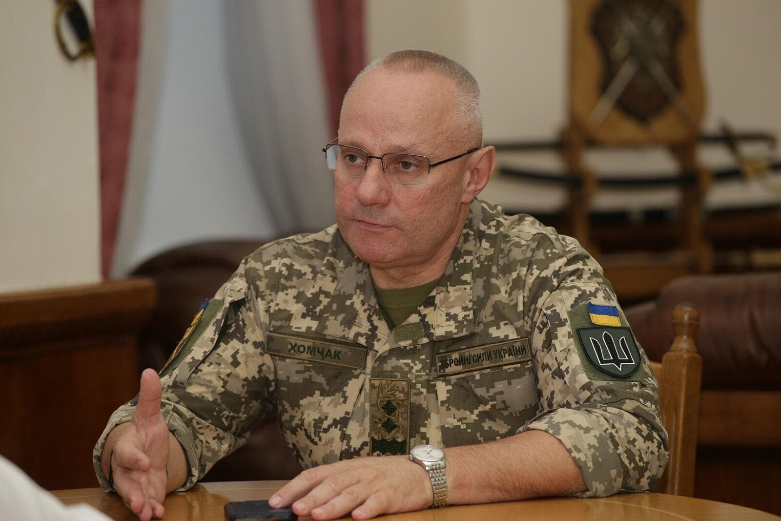 Armed Forces Commander of Ukraine rejects use of force to seize Donbass