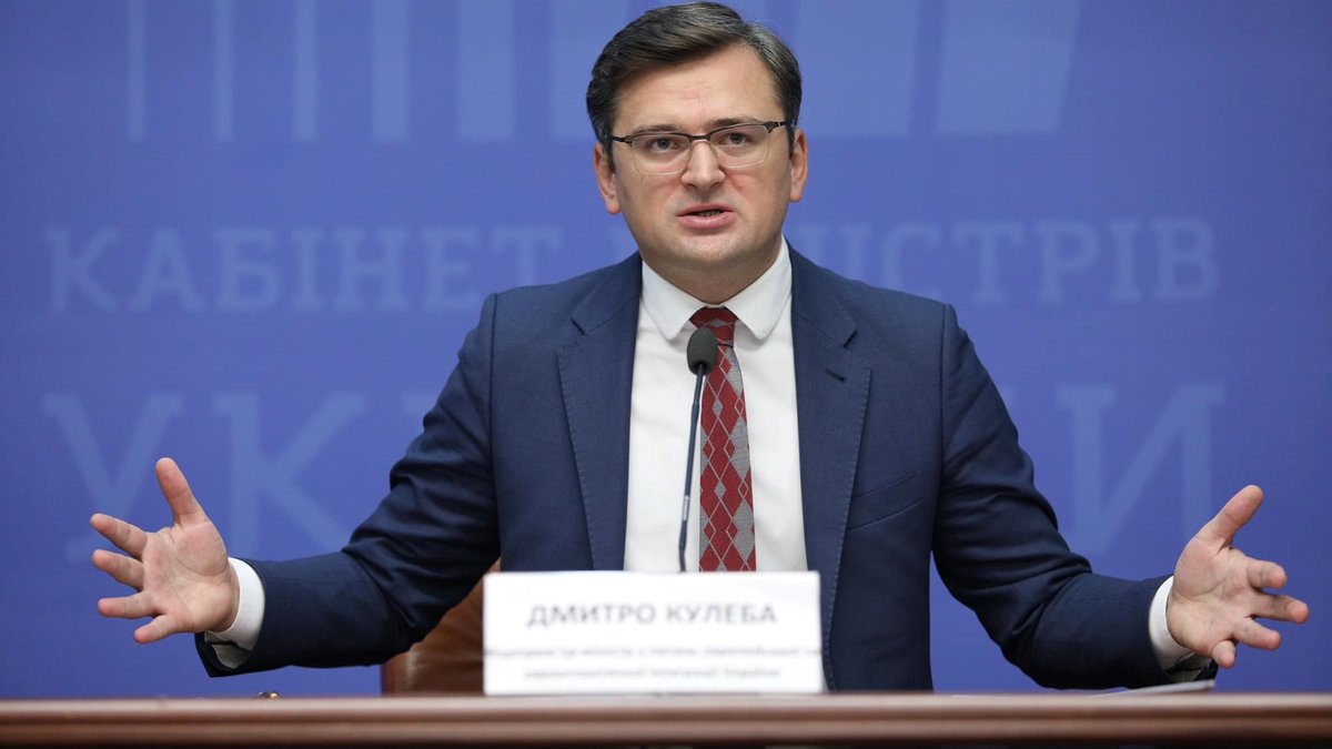 """Ukrainian Foreign Minister asks Baltic states to """"support Ukraine"""" before the EU and NATO"""