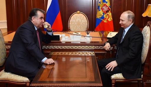 Vladimir Putin had a telephone conversation with the President of Tajikistan