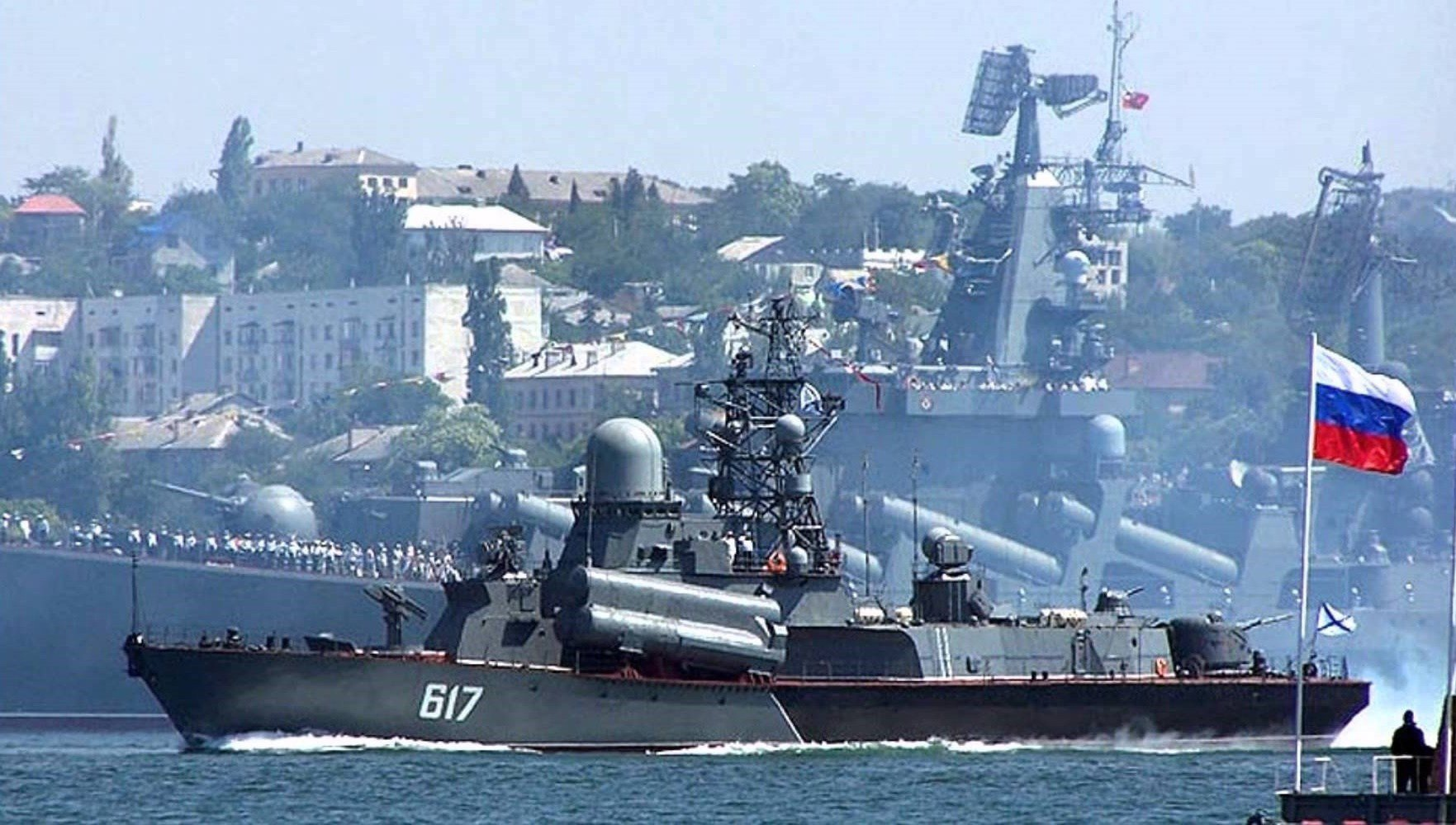 Russia closes three areas of the Black Sea for six months