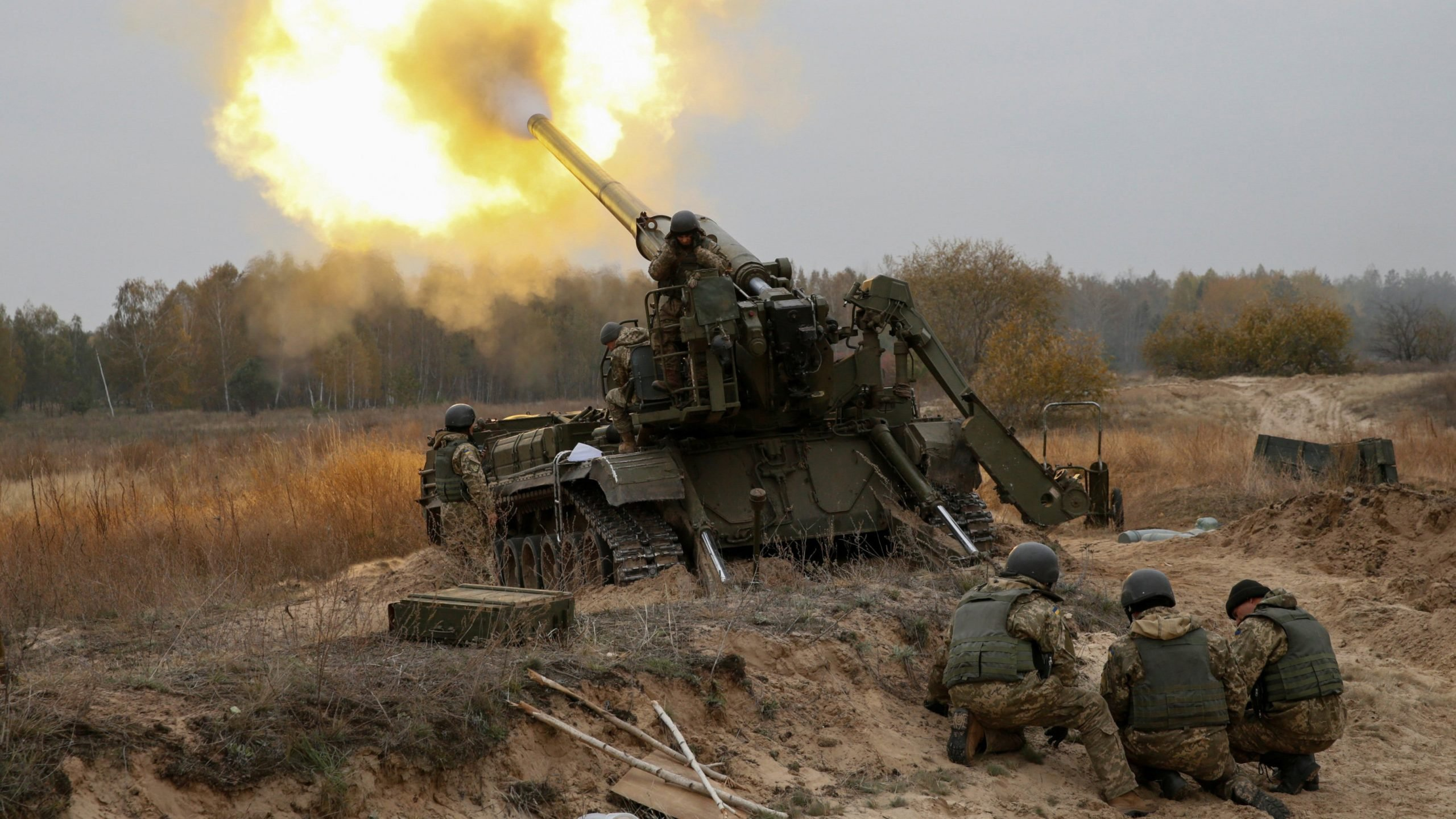 DPR People's Police reports punishers shelled Donetsk from artillery
