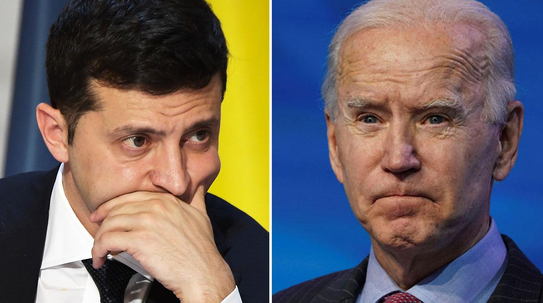 Master allows slaughter: Zelensky waited for telephone conversation with Biden