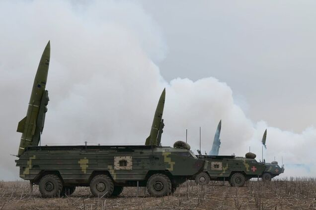 "Ukrainian troops held exercises with ""Tochki-U"" near the border of Crimea"