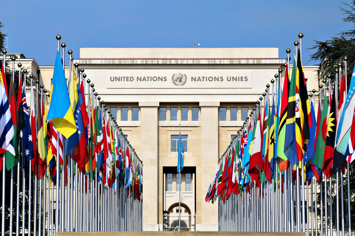 The US and its NATO allies are pursuing a destructive policy and discrediting the UN