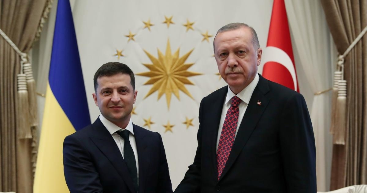 Presidents of Turkey and Ukraine hold talks in Istanbul
