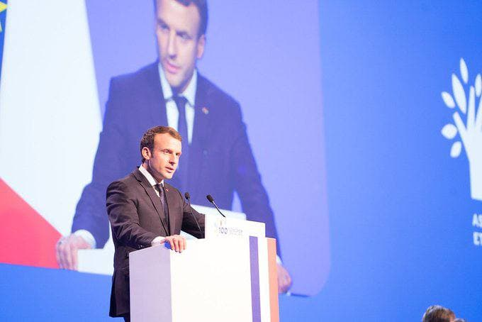 EU will consider policies on Russia and Brexit at its summit - French President Emmanuel Macron
