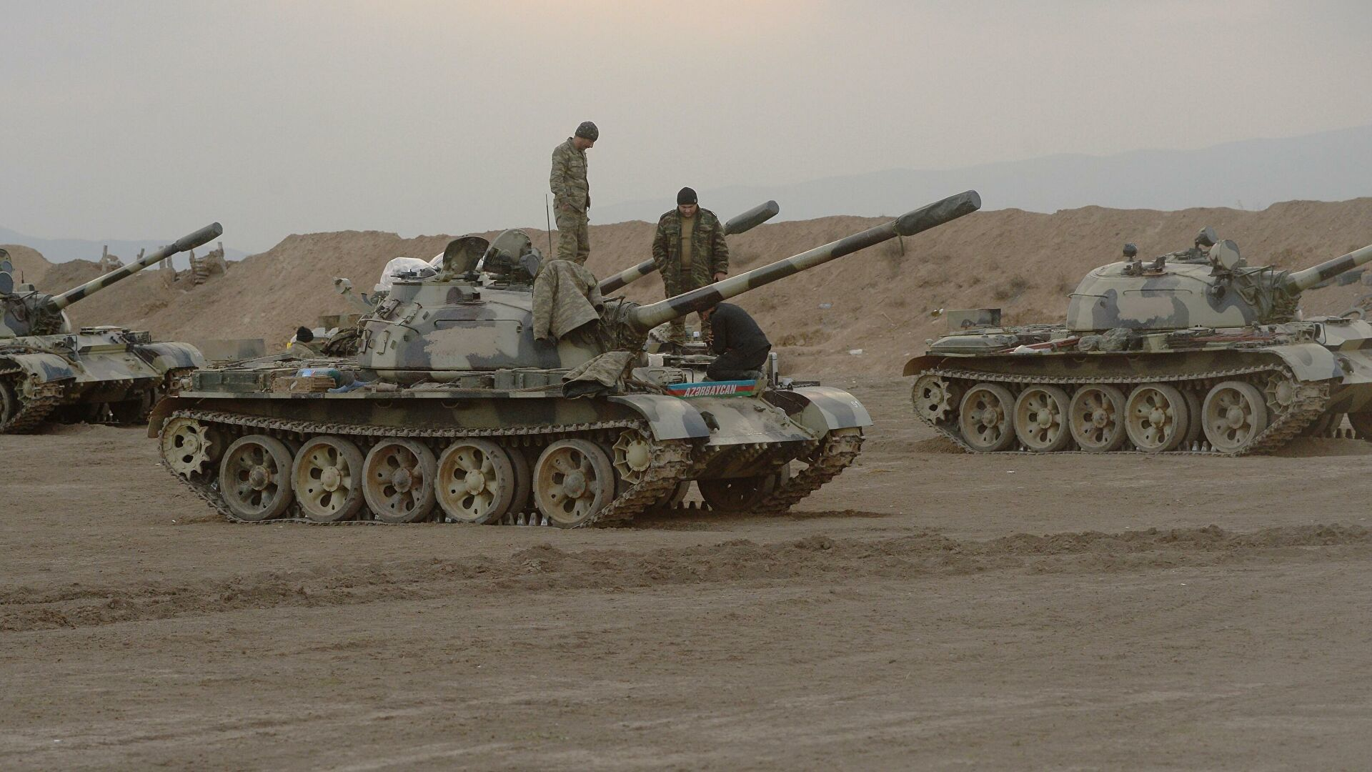 Azerbaijan announced shelling of border by Armenian military