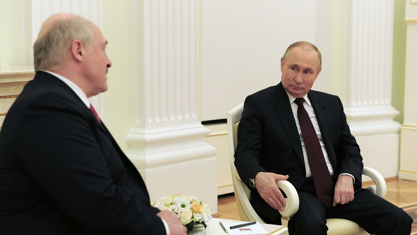 Kremlin names topics of meeting between Putin and Lukashenko