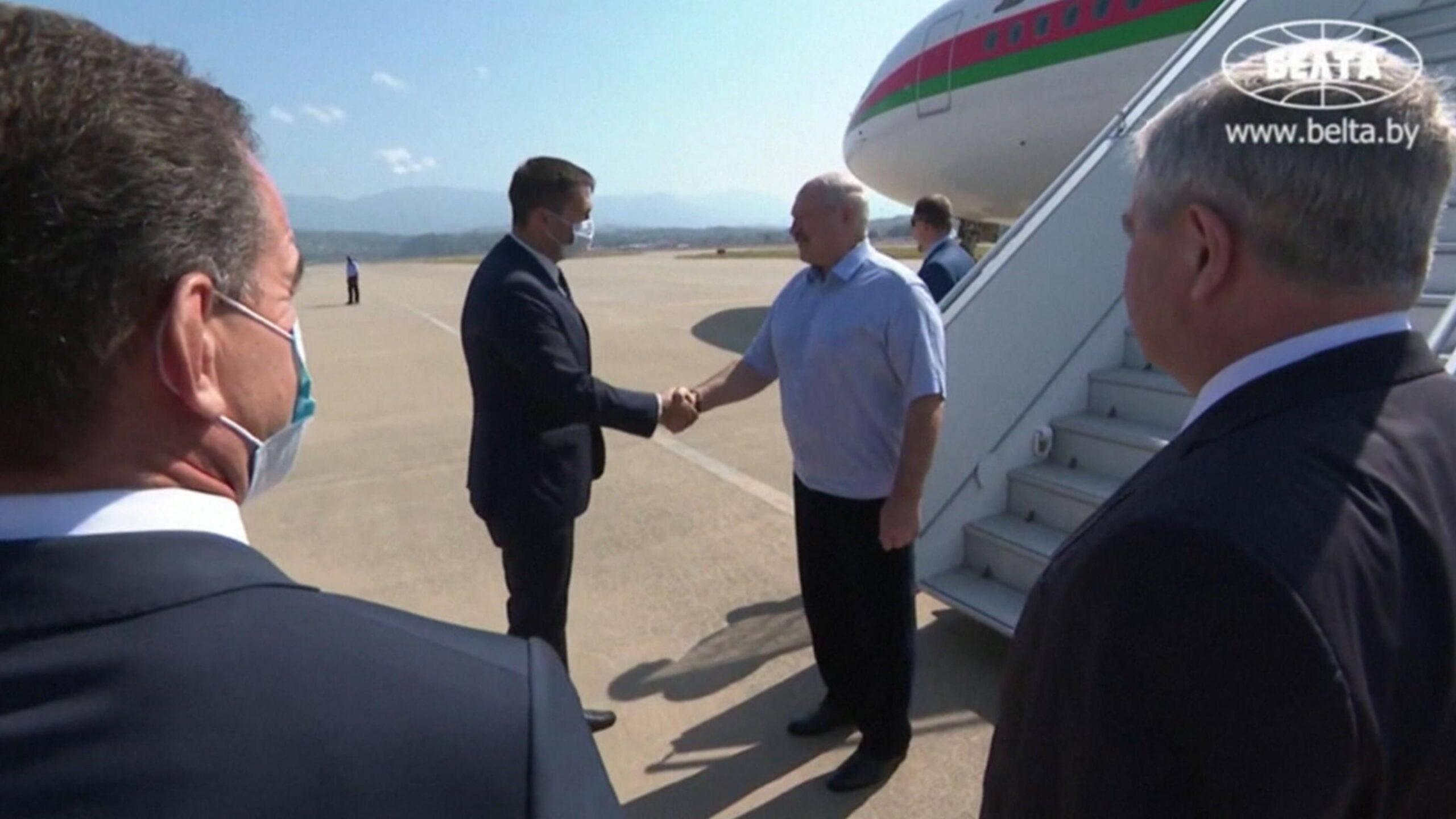 Lukashenko arrives in Sochi for talks with Putin