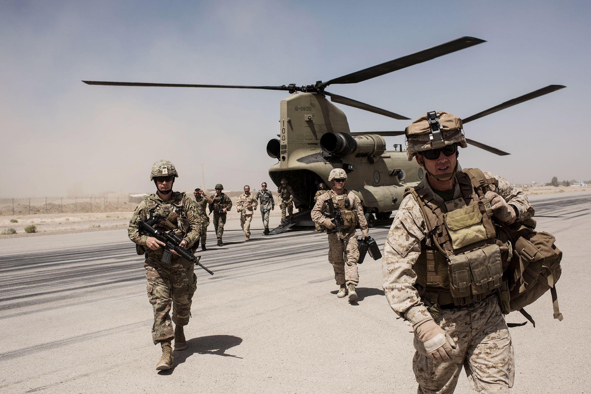 US military has abandoned its base in Kandahar province