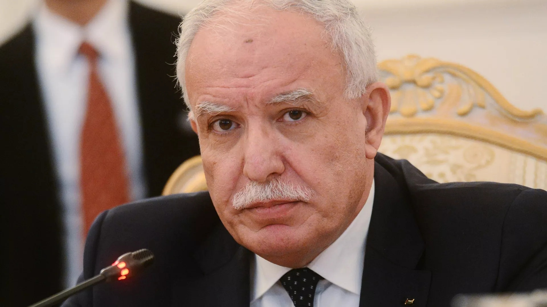 Palestinian Foreign Minister said he brought Putin a letter from Abbas