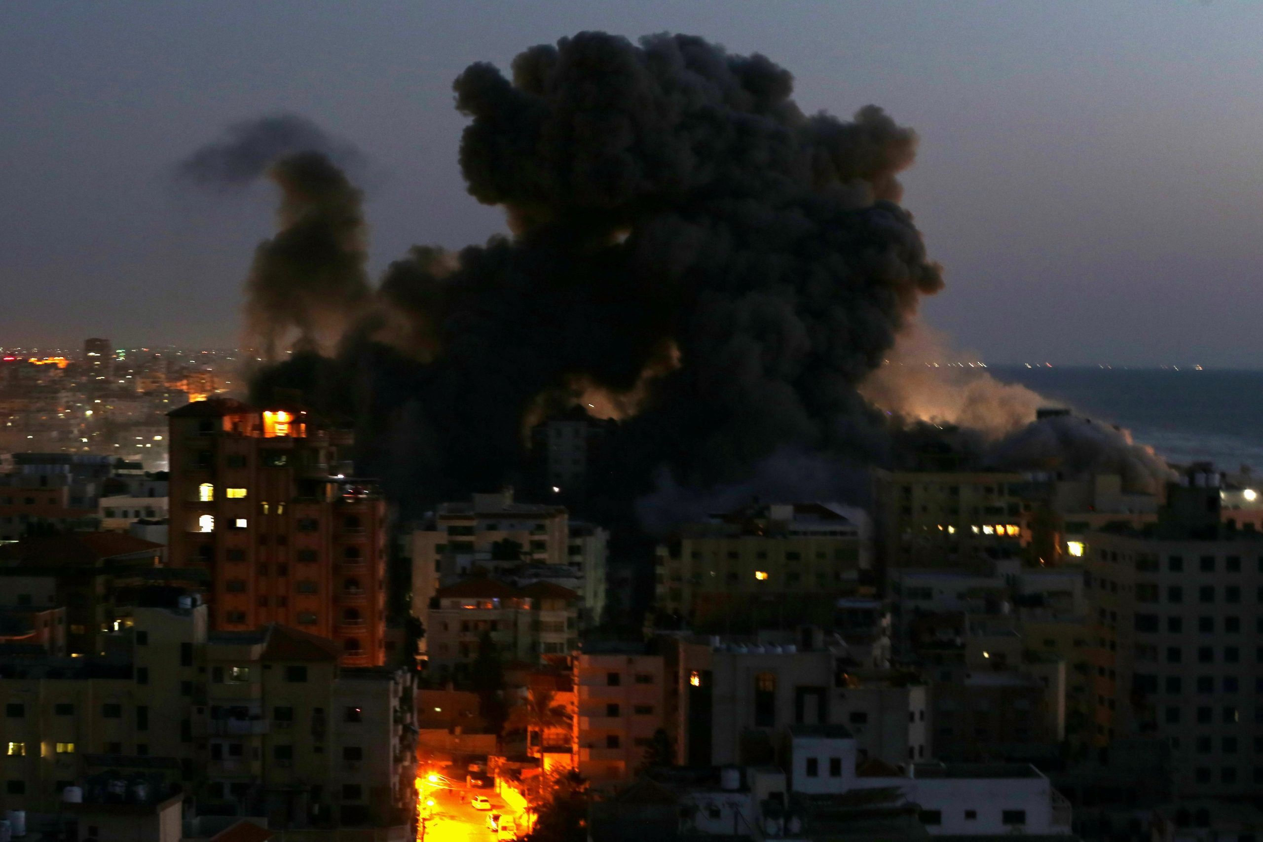 Israel launches massive attack on radicals in Gaza