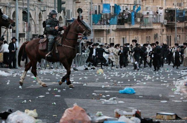 Riots erupt in Jerusalem