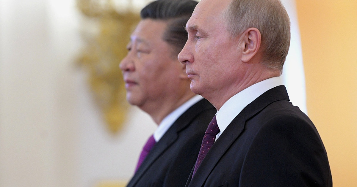 Russian Senator says U.S. itself is pushing China to an alliance with Russia