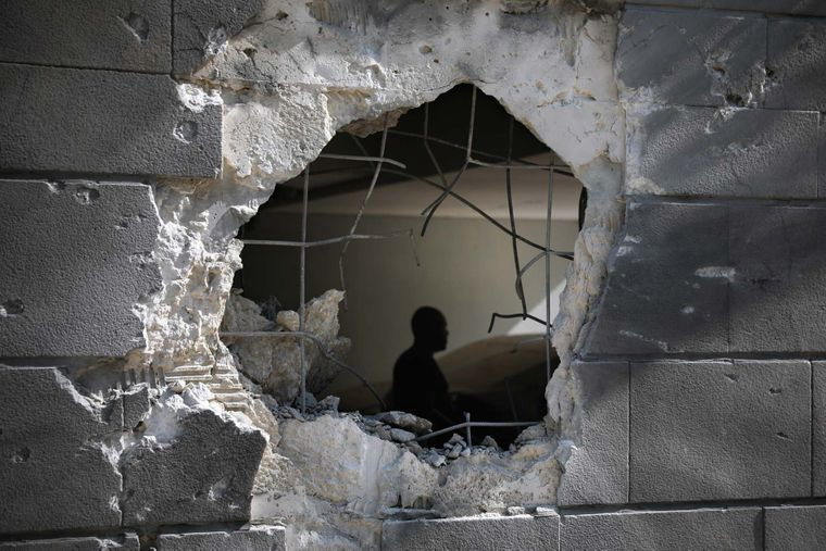 Rockets from Gaza hit a kindergarten and a factory in Sderot