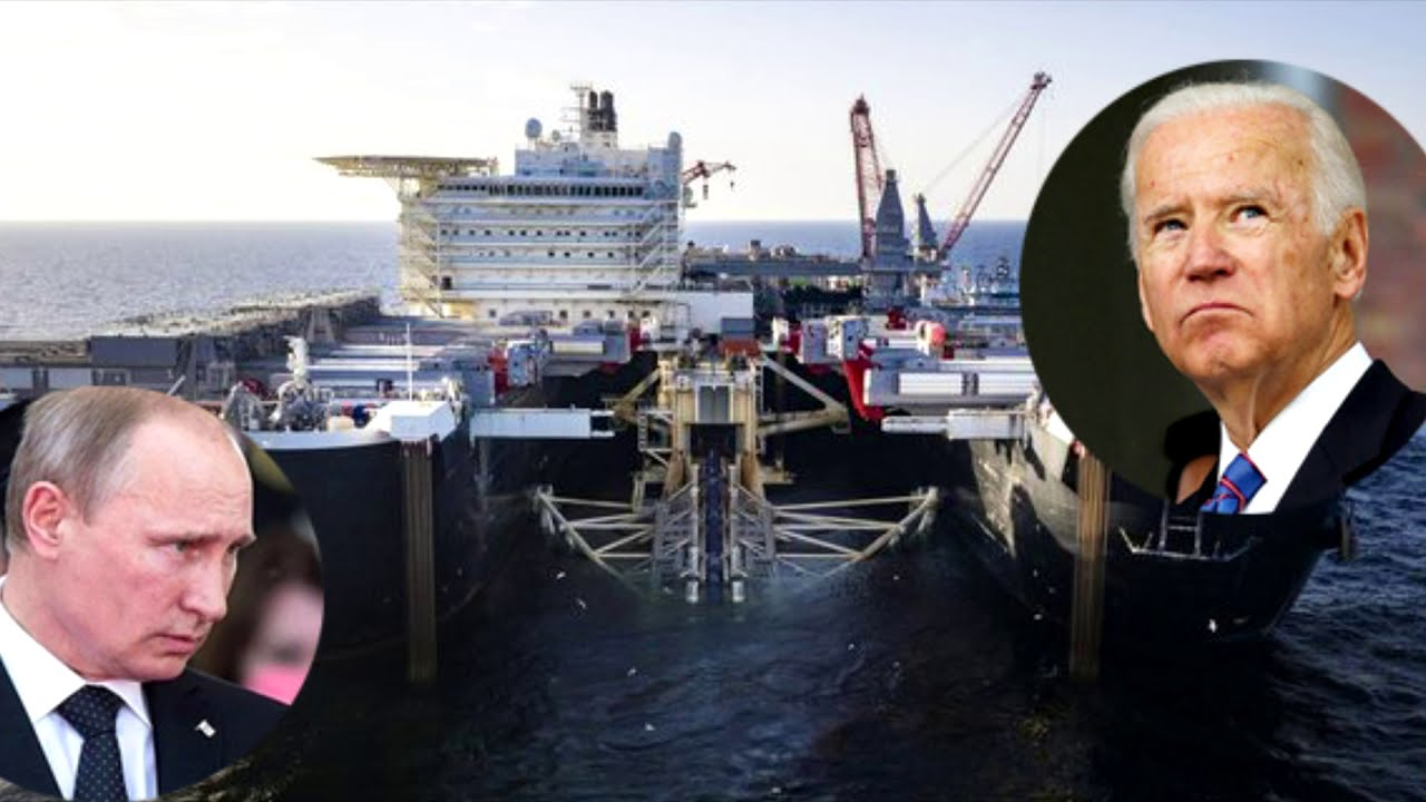 Biden is actively helping Putin build Nord Stream 2
